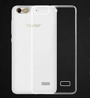 Силиконовый чехол 0,33 мм для Huawei Honor 4C прозрачный