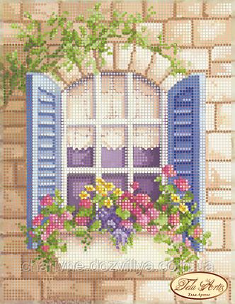 """Схема для вышивки бисером на атласе """"Окно в Лондон"""", фото 2"""