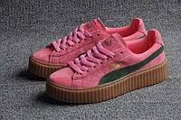 Женские кроссовки puma900440 в розовом цвете