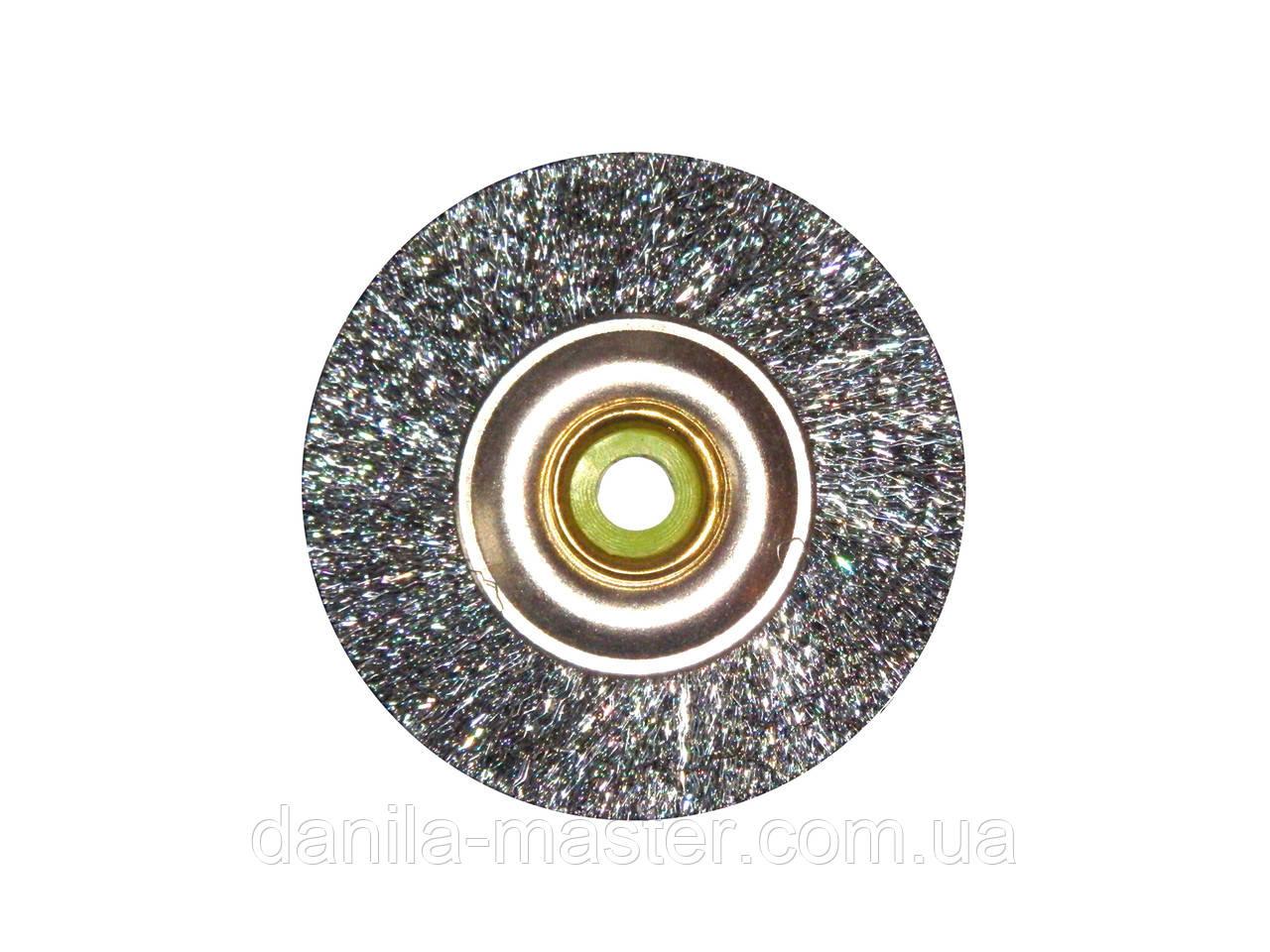 Щітка сталева (діам.49мм) витий