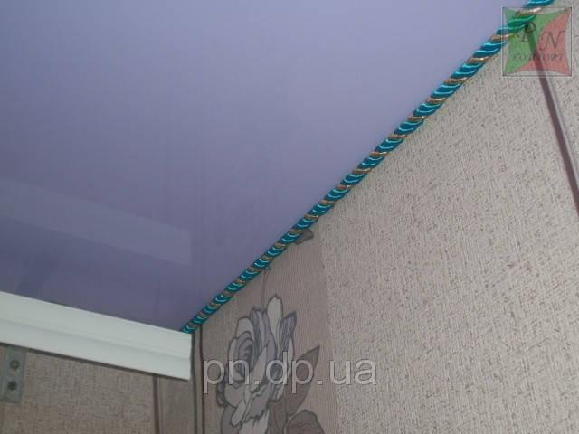 Натяжные потолки с декоративным шнуром 20