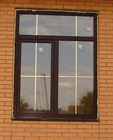 Вікно 1800*1400 махагон зовнішній