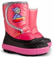 Зимние дутики для девочки DEMAR SnowBoarder, розовые