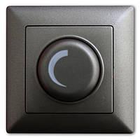 Светорегулятор 1000W с подсветкой Дымчатый Visage