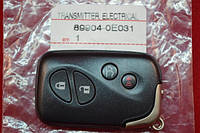 Smart key Lexus 89904-0E031 FCC ID: HYQ14ACX