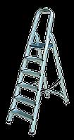 Стремянка алюминиевая 7 ступеней (h 1.43м; 4.8кг) TECHNICS