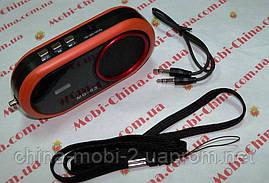 Портативная колонка-радио MD-83 MP3 SD USB FM, фото 3