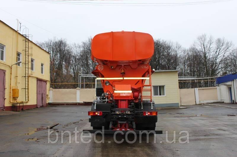 Дорожня комбінована машина (зима+літо) МДКЗ-18 на шасі МАЗ-6312 - фото 1