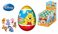 DISNEY Винни Пух Драже в пластиковом яйце с игрушкой 6/12, 20г., Конфитрейд