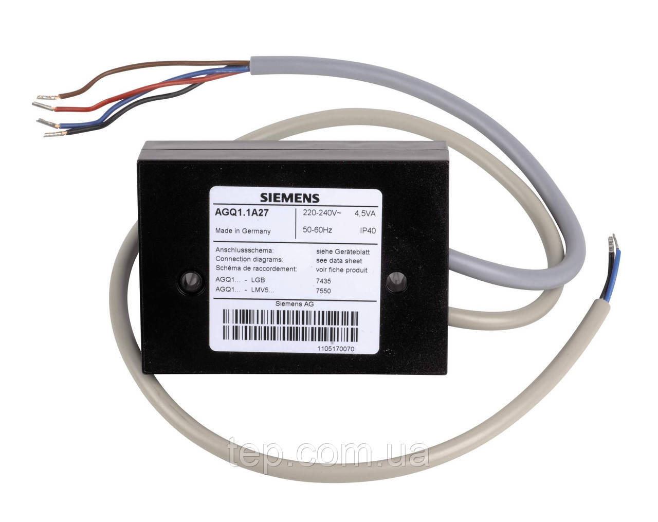 Підсилювач датчика Siemens AGQ1.2A27