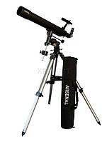 Телескоп Arsenal 90/800, EQ3A, рефрактор, с сумкой
