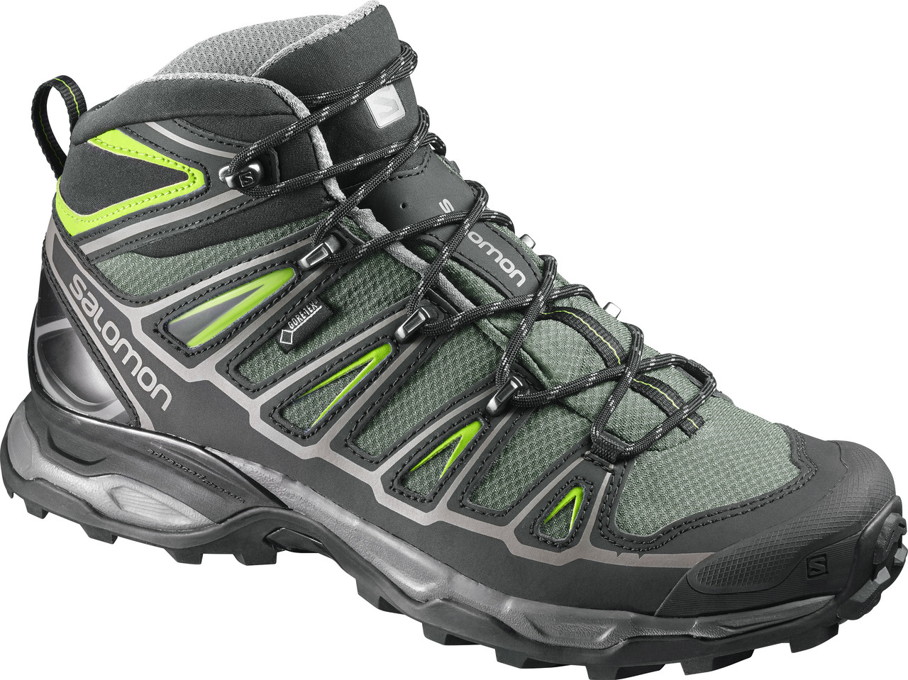 Ботинки Salomon X ULTRA MID 2 GTX BETTLE GRE/BK/S (MD)