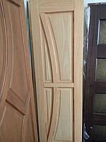 Двери межкомнатные из массива дерева (сосна, шпонированная дубом), доставка по Украине