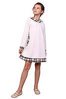 Платье  детское с длинным рукавом   М -942  рост 98-140 трикотажное разных цветов, фото 1