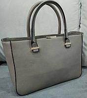 Женская модная сумочка Victoria Beckham серая Виктория Бекхэм