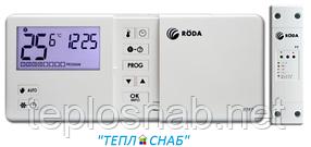 Термостат комнатный беспроводной Roda RTF 7 недельный
