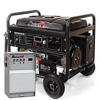 Японский бензиновый генератор Matari BS9000E-ATS (6.5 кВт)