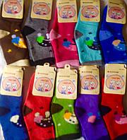 Махровые детские носочки Корона S