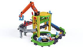 Chuggington Игровой набор Коко в порту Моторизованный StackTrack Motorized Drop and Load Dash