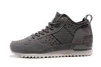 "Мега модные  и тёплые замшевые ботинки adidas  Military Trail Runner ""Grey/White"", фото 1"