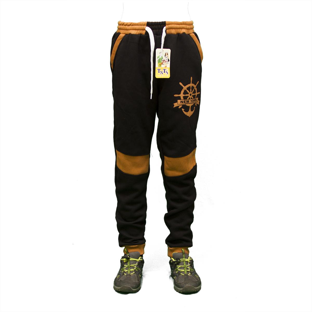 Теплые подростковые брюки байка детская одежда Турция  2204P