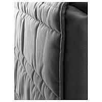 IKEA ОППЛАНД Каркас кровати, дубовый шпон, серый темно-серый : S19040223, S190.402.23