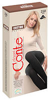 Колготки жіночі хлопкові Conte Cotton 250 Den (Конте Котон 250 ден), розмір 2-4, Білорусія