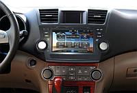 Штатная магнитола для Toyota Highlander 2008+ android