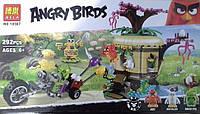 """10507 Конструктор Angry Birds Bela (19003 LEPIN), """"Кража яиц с птичьего острова"""", 292 дет."""