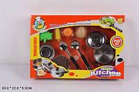 Посуда металл 831102 с продуктами купить подарок для девочки в Харькове