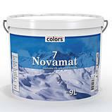 Полуматовая краска Colors Novomat 7, 9л, C, фото 2