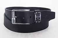 Мужской кожаный ремень Philipp Plein для джинсов, фото 1