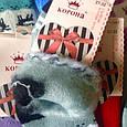 Махрові дитячі шкарпетки з начосом 32-37 Корона бамбукові, фото 2