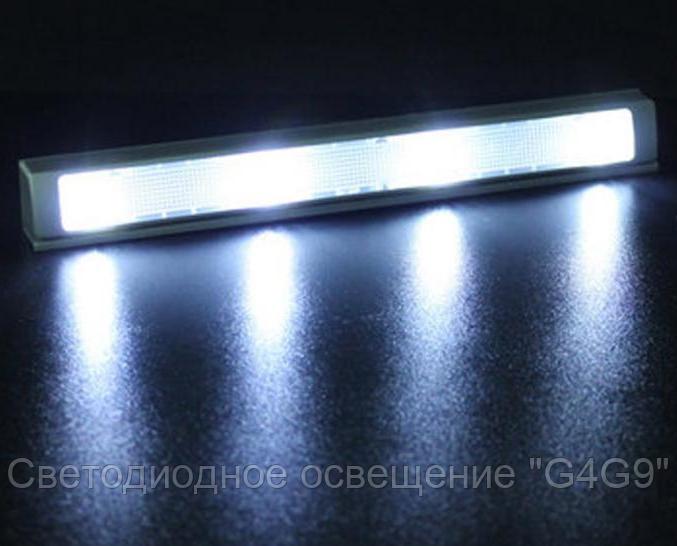 Автоматическое освещение в шкаф-купе