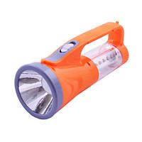 Фонарик светодиодный Yajia YJ 2825, аккумуляторный ручной фонарь