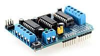 Плата расширения Arduino 2L293D Shield, фото 1