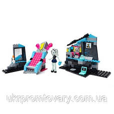 Конструктор Mega Bloks Комната Фрэнки Monster High CNF81 , фото 2