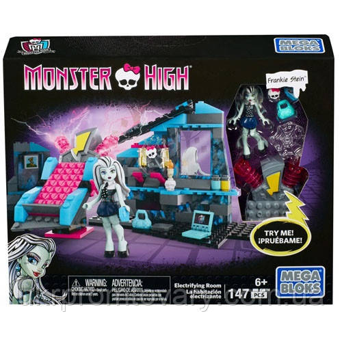 Конструктор Mega Bloks Комната Фрэнки Monster High CNF81