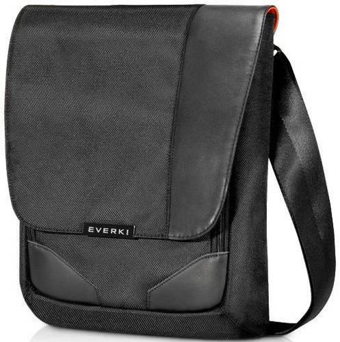 Сумка премиум качества на плечо EVERKI Venue XL EKS622XL черная