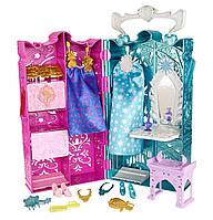 Disney Холодное сердце Шкаф для Анны и Эльзы с аксессуарами Frozen Dual Vanity Playset