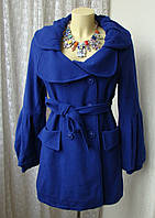 Пальто шикарное красивое яркое y.o.u р.42-44 7206
