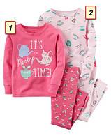 Пижама детская для девочки Carter's США, (размер: 2Т;5Т;6;7;8;10):