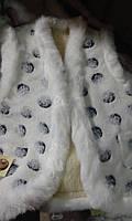 Теплая женская жилетка из овчины разные размеры