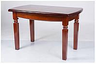 Кухонный стол массив дерева Кайман 120(+40)х70х75 (светлый орех)