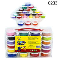 Набор Light Clay 0233 тесто для лепки (24 цвета)