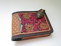 """Маленький кожаный кошелёк: """"INSIDE THE EMERALD"""", фото 1"""