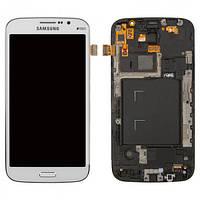 Дисплей для Samsung I9152 Galaxy Mega 5.8 + с сенсором (тачскрином) и рамка White
