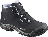 Ботинки Salomon SHELTER CS WP W BK/BK/STONE blue (MD)