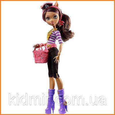 Кукла Monster High Клодин Вульф (Clawdeen Wolf) из серии Shriek Wrecked Монстр Хай