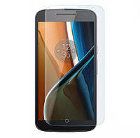 Закаленное защитное стекло для Motorola Moto G4, фото 1